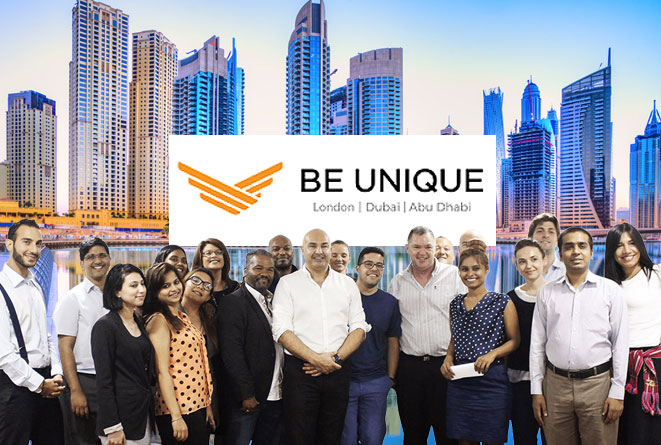 Be Unique Group Dubai team