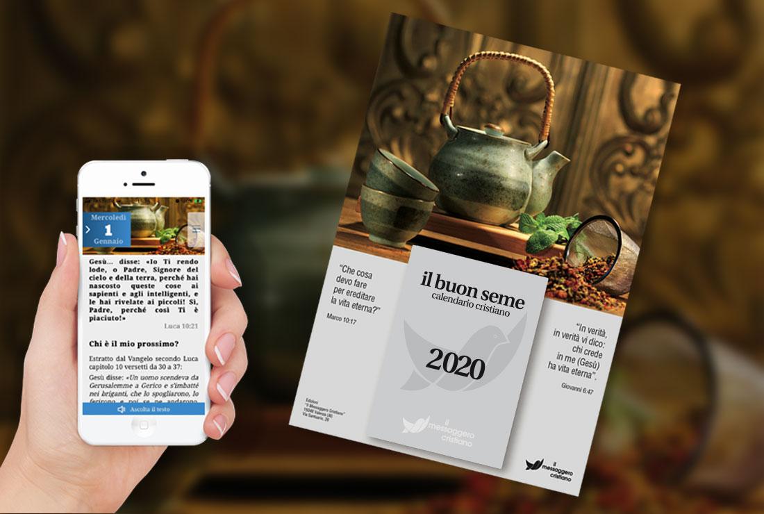 Calendario Buon Seme App mobile Android iPhone