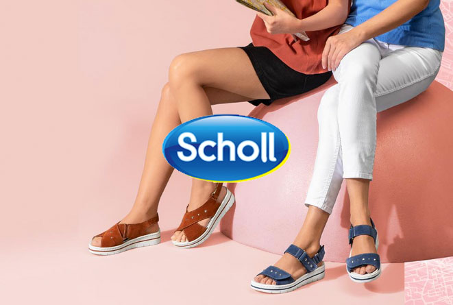 Scholl Shoes strategia Media online e offline